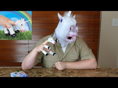 Handicorn Unicorn Hand Puppet #wickedshrapnel