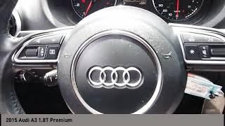 2015 Audi A3 San Antonio TX 1018138A
