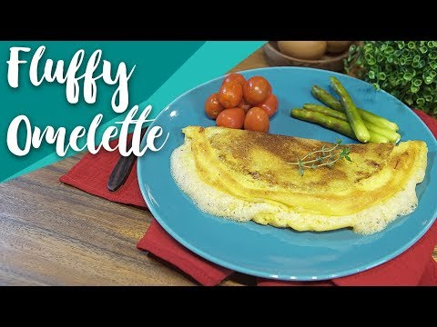 Resep Fluffy Omelette by Putri Miranti | GO COOK #8