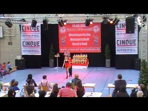 Christina Ruß & Luca Bove - Oberbayerische Meisterschaft 2012