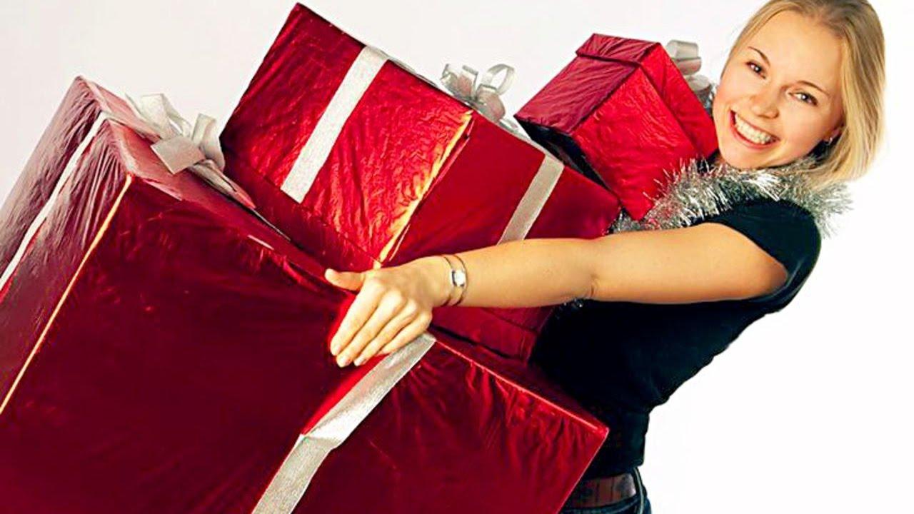 Девушка с подарком картинки 58