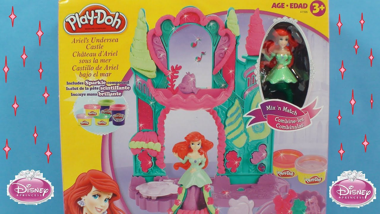 Disney Princess Play Doh Castle Play Doh Disney Princess Ariel