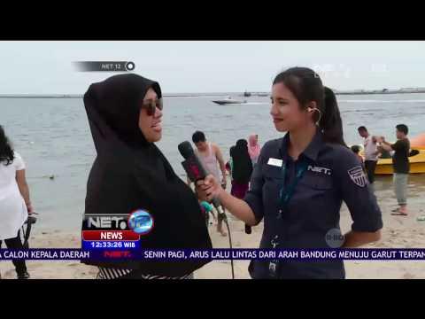 Live Report Lokasi Liburan Pantai Ibu Kota, Ancol - NET 12