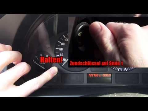 BMW 5 E39 Service Intervall reset - Serviceanzeige zurückstellen