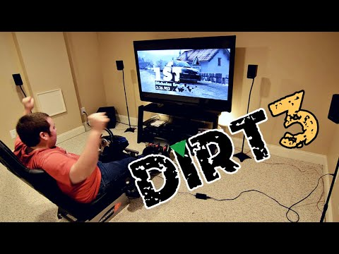 My PS3 Racing Setup and Some DiRT 3 Fun
