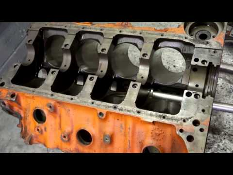 Inspecting the engine at Smyth Automotive - part 2