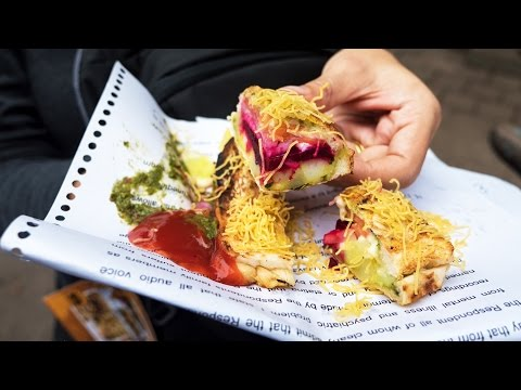 Indian Street Food - 10 of the BEST Foods To Eat in Mumbai, India!