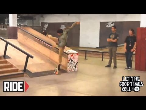 Chris Cole, Trevor Colden, Garrett Hill, and More Skate The Block - LET THE GOOD TIMES ROLL