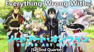 Everything Wrong With: Sword Art Online (Second Quarter)