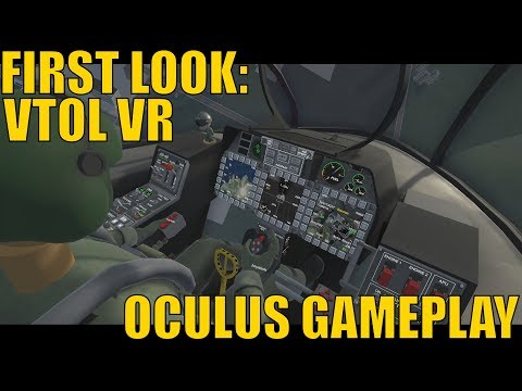 First Look: VTOL VR - Oculus Touch Gameplay