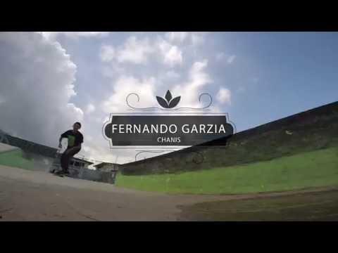 Fernando Garzia desde el Skatepark de Chanis