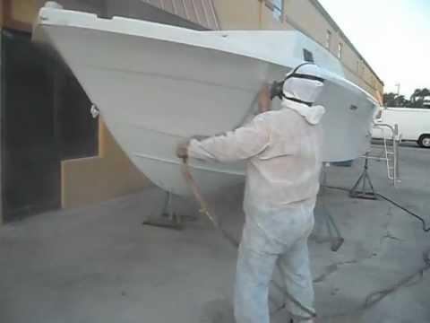 Pintando barco youtube for Como reparar un cristal agrietado
