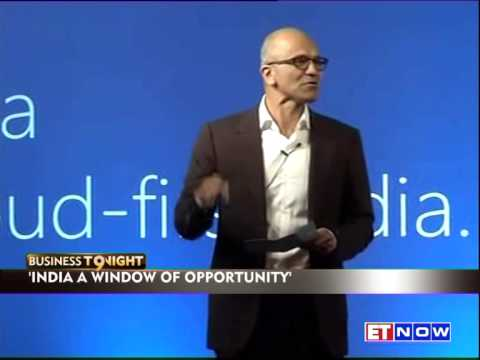 Satya Nadella's Digital Plan For India