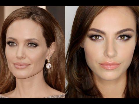 Angelina Jolie Oscars Makeup
