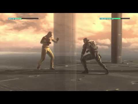 Metal Gear Solid 4 Solid Snake Vs. Liquid Ocelot Hd video