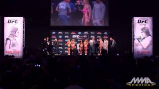 UFC 184 Weigh-Ins: Holly Holm vs. Raquel Pennington