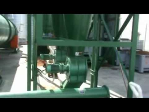 Rotary Dryers for Wood and Biomass Pellet Plants