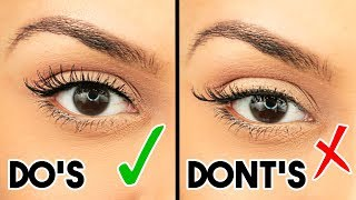 5 MISTAKES You Make When APPLYING FALSE LASHES! - TrinaDuhra