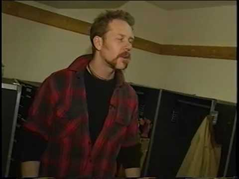 James Hetfield Interview (Fresno 96)