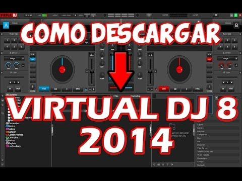 COMO DESCARGAR VIRTUAL DJ PRO 8 COMPLETO FULL EN ESPAÑOL 32 Y 64 BITS 2014 WINDOWS 8 7