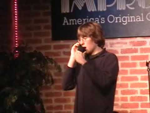 Comedian Answers Heckler's Phone