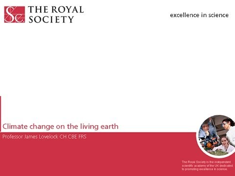 Climate change on the living Earth