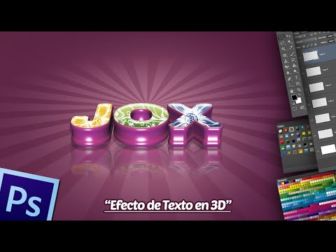 Tutorial Photoshop: Efecto de Texto 3D.