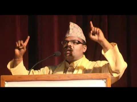 Speech by Mr. Janardan Ghimire on Devanagari Jagran Sammelan 2068