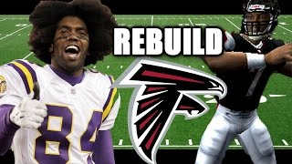 THE MISSING RINGS Mike Vick & Randy Moss Madden 04 franchise rebuild