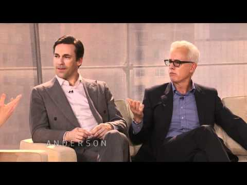 Jon Hamm & John Slattery Talk 'Mad Men' Martinis