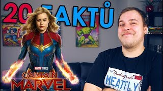 20 FAKTŮ - Captain Marvel