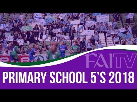 SPAR FAI Primary School 5s Programme 2018