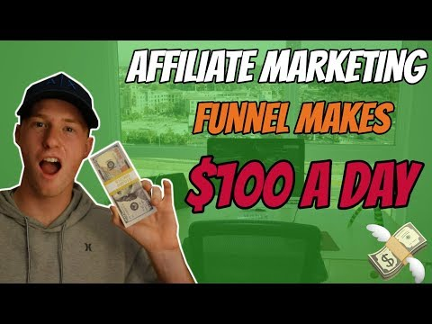 [CASE STUDY] How this Affiliate Marketing Funnel Makes $100 a Day