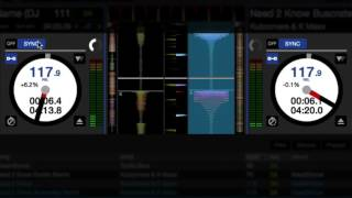 DVS Smart Sync demo in Serato DJ 1.9.6