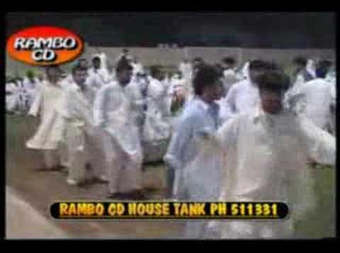 Afghan Pashto Music Attan zarsanga (khat Me Zanziree Dey) video