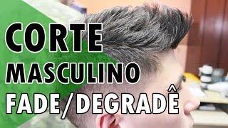 CORTE DE CABELO MASCULINO DEGRADÊ | PASSO A PASSO