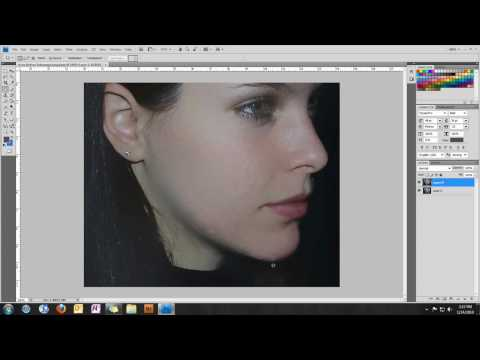 Acne or Blemish Removal Tutorial - Photoshop CS4