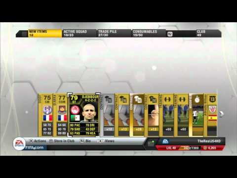 FIFA 13 Ultimate Team | My BEST Packs So Far! Ft. Inform Player!!