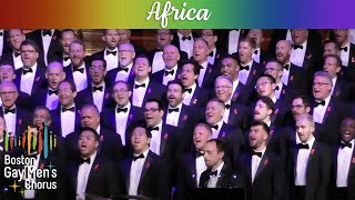 Africa Boston Gay Men 39 S Chorus
