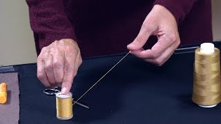 A Secret to Threading a Needle