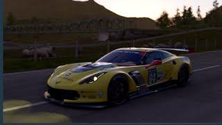 Project Cars 2 Gameplay- Corvette C7.R @ Bannochbrae Road Circuit
