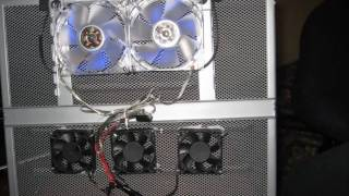 How to make Laptop cooling pad/station  with 5 Fans