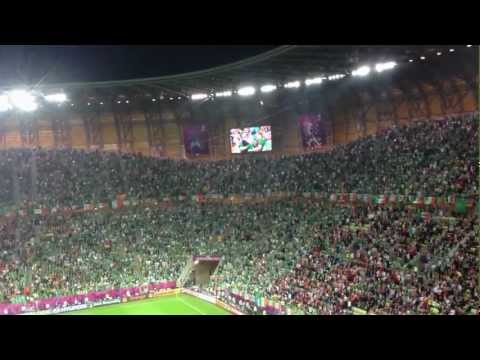 Fields of Athenry - Ireland v Spain, Gdansk, Euro 2012