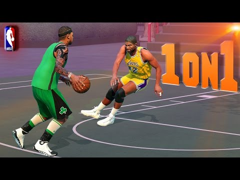 Magic Johnson Gets Crossed But Gets Buckets - NBA 2K16 1on1