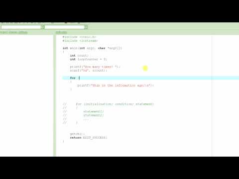 C Programming Tutorial # 13 - for Loop [HD]
