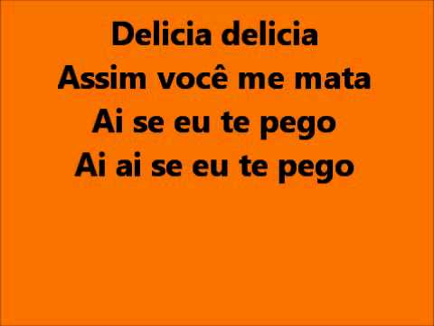 Michel Telo - Ai se eu te pego lyrics