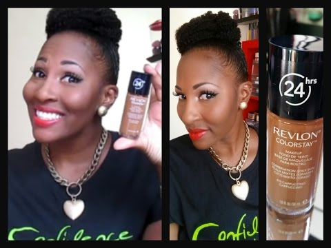 An Oldie But Goodie, Revlon Color Stay Foundation +Demo