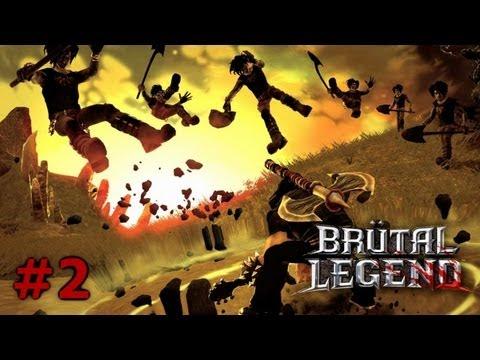 Прохождение Brutal Legend [Часть 2] - Спасем хедбенгеров!