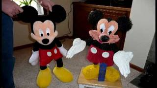 How To Make 3d Origami Mickey Mouse To Win In Mn State Fair