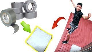 PHD | Bạt Nhún Làm Từ 1000M Băng Dính | Trampoline Made From 1000 Meters Of Adhesive Tape
